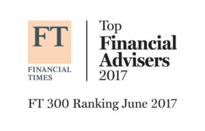 Financial Times Top Financial Advisers 2017 FT 300 Ranking June 2017